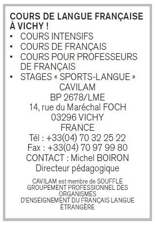 annuncio promozionale in francese