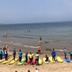 Surf & baking in Whitely Bay