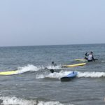 Surfing & baking in Whitely Bay