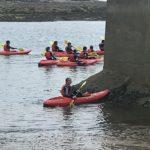 Prendendo confidenza con il kayak