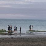 Bagno nel Mare del Nord
