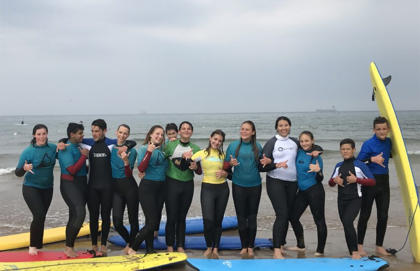 Surfing & baking in Whitely Bay