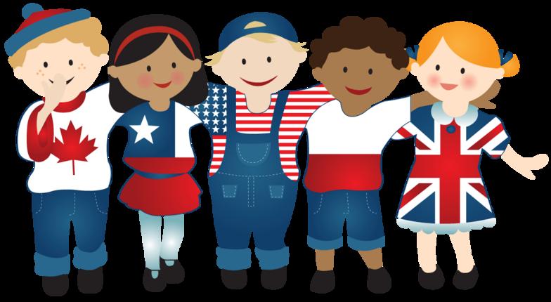 Disegno bambini anglofoni