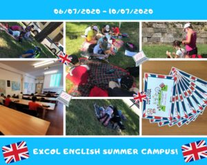 Excol English Campus collage