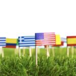 lingue - bandiere del mondo